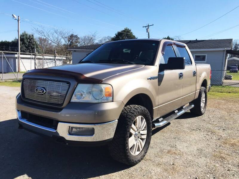 2005 Ford F-150 for sale at Cutiva Cars in Gastonia NC