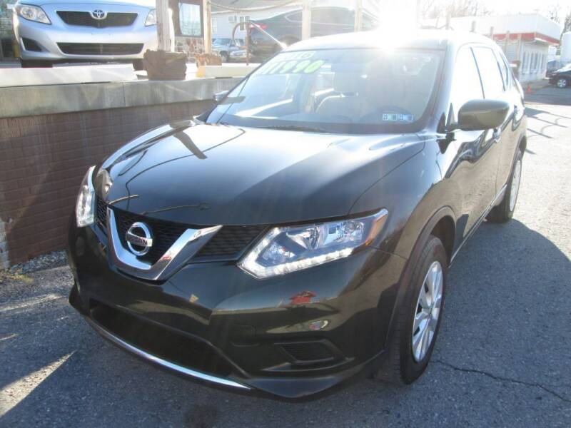 2016 Nissan Rogue for sale at WORKMAN AUTO INC in Pleasant Gap PA