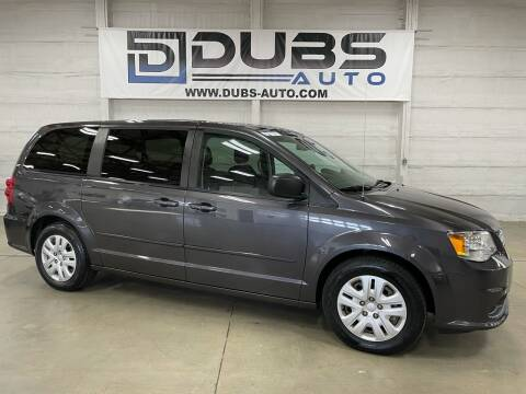 2017 Dodge Grand Caravan for sale at DUBS AUTO LLC in Clearfield UT
