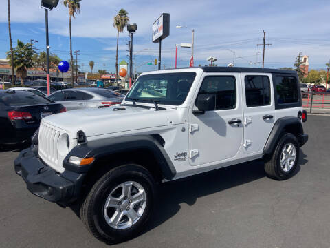 2020 Jeep Wrangler Unlimited for sale at Pacific West Imports in Los Angeles CA