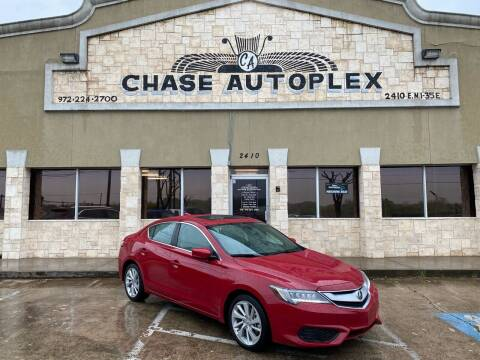 2017 Acura ILX for sale at CHASE AUTOPLEX in Lancaster TX