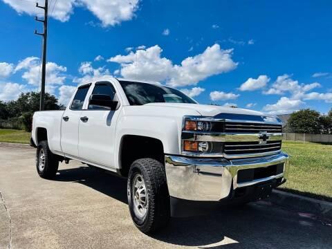 2015 Chevrolet Silverado 2500HD for sale at ELITE AUTO EXPERT in Houston TX
