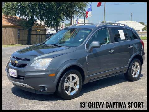 2013 Chevrolet Captiva Sport for sale at ASTRO MOTORS in Houston TX