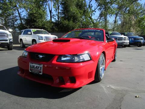 2002 Ford Mustang for sale at LULAY'S CAR CONNECTION in Salem OR