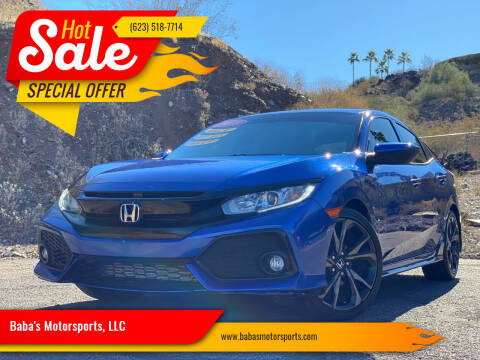 2018 Honda Civic for sale at Baba's Motorsports, LLC in Phoenix AZ