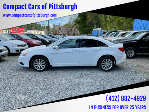2012 Chrysler 200 for sale at Compact Cars of Pittsburgh in Pittsburgh PA