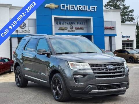 2018 Ford Explorer for sale at PHIL SMITH AUTOMOTIVE GROUP - SOUTHERN PINES GM in Southern Pines NC