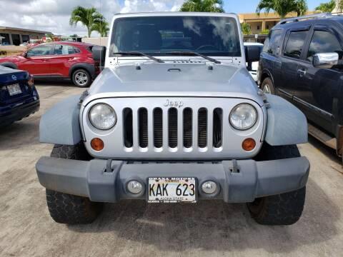 2011 Jeep Wrangler Unlimited for sale at Ohana Motors in Lihue HI