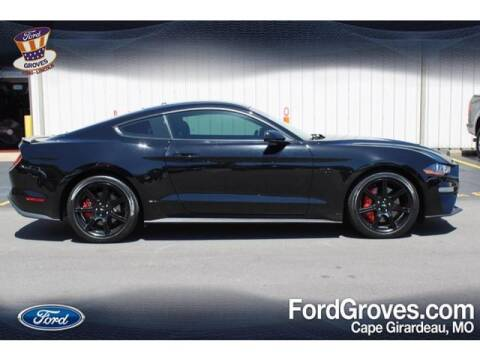 2019 Ford Mustang for sale at JACKSON FORD GROVES in Jackson MO