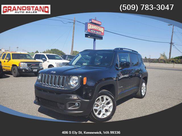 2018 Jeep Renegade for sale at Grandstand Auto Sales in Kennewick WA