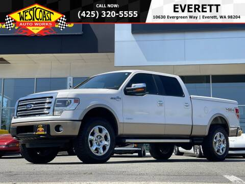 2013 Ford F-150 for sale at West Coast Auto Works in Edmonds WA