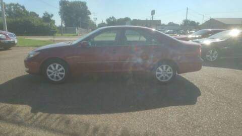 2003 Toyota Camry for sale at Frontline Auto Sales in Martin TN