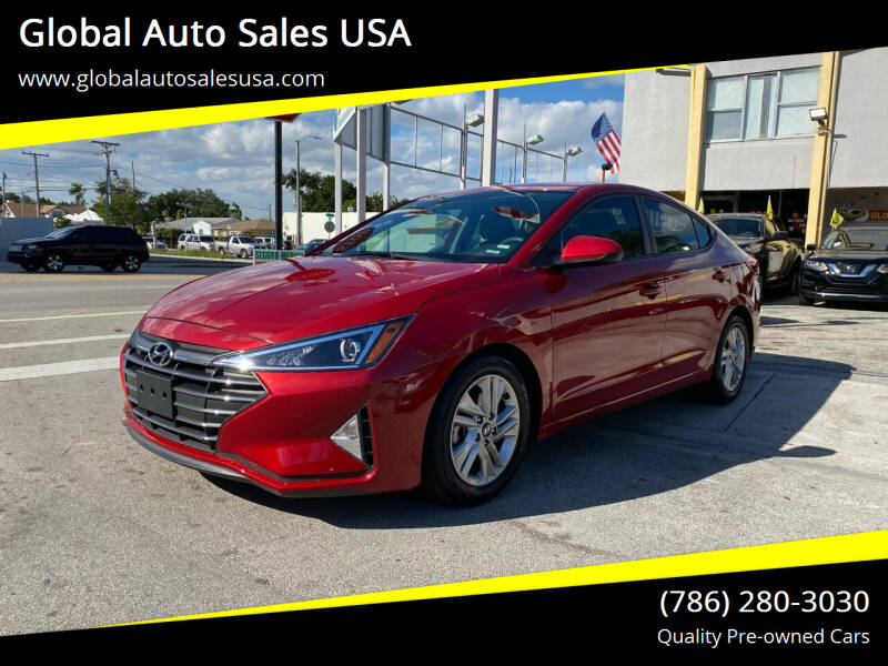 2019 Hyundai Elantra for sale at Global Auto Sales USA in Miami FL