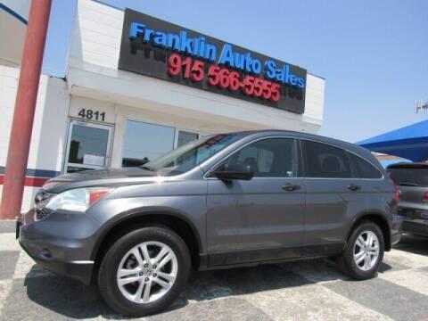 2011 Honda CR-V for sale at Franklin Auto Sales in El Paso TX