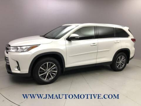 2019 Toyota Highlander for sale at J & M Automotive in Naugatuck CT