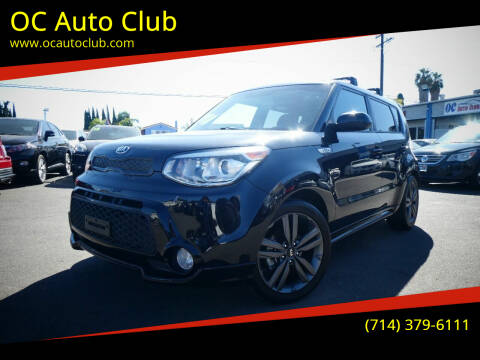 2016 Kia Soul for sale at OC Auto Club in Midway City CA