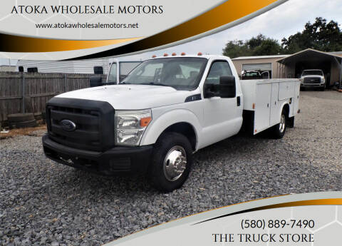 2014 Ford F-350 Super Duty for sale at ATOKA WHOLESALE MOTORS in Atoka OK