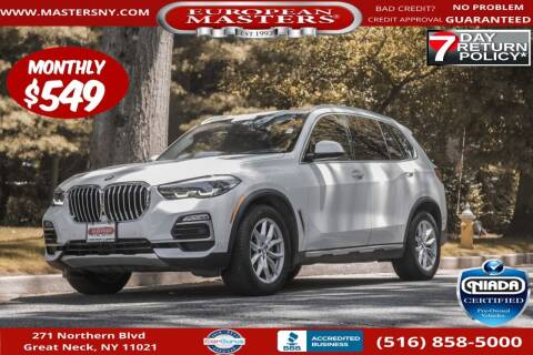 2019 BMW X5 for sale at European Masters in Great Neck NY