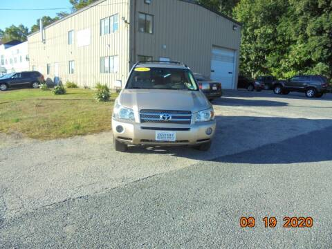 2006 Toyota Highlander Hybrid for sale at Exclusive Auto Sales & Service in Windham NH