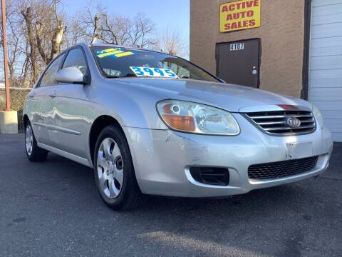2008 Kia Spectra for sale at Active Auto Sales Inc in Philadelphia PA