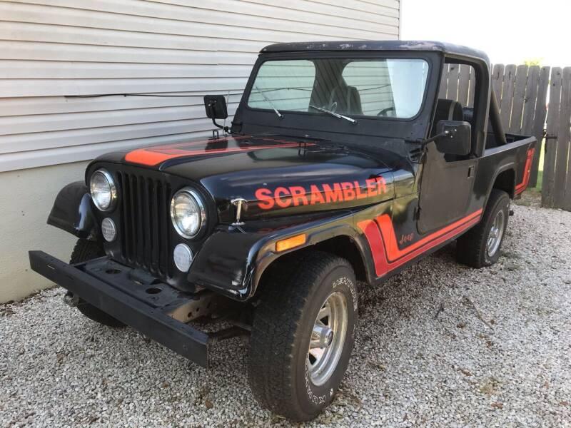 1981 Jeep Scrambler for sale at Mafia Motors in Boerne TX
