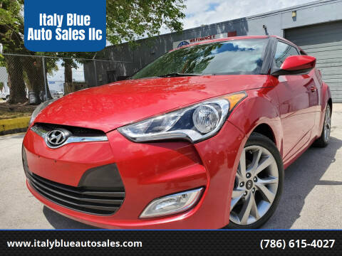 2017 Hyundai Veloster for sale at Italy Blue Auto Sales llc in Miami FL