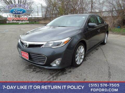 2013 Toyota Avalon for sale at Fort Dodge Ford Lincoln Toyota in Fort Dodge IA
