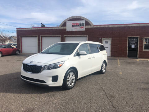 2016 Kia Sedona for sale at Family Auto Finance OKC LLC in Oklahoma City OK