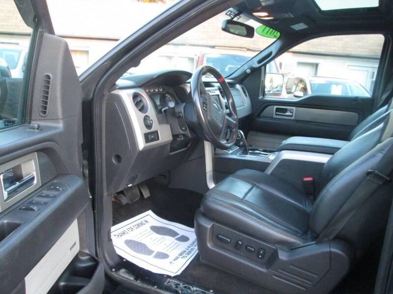 2011 Ford F-150 4x4 SVT Raptor 4dr SuperCrew Styleside 5.5 ft. SB - Lowell MA