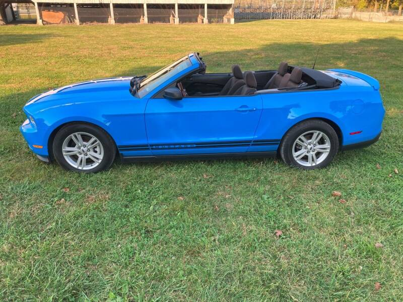 2012 Ford Mustang for sale at Rustys Auto Sales - Rusty's Auto Sales in Platte City MO