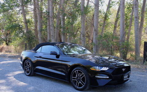 2018 Ford Mustang for sale at Northwest Premier Auto Sales in West Richland WA