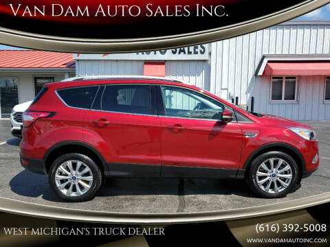 2018 Ford Escape for sale at Van Dam Auto Sales Inc. in Holland MI