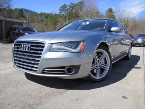 2013 Audi A8 L for sale at Atlanta Luxury Motors Inc. in Buford GA
