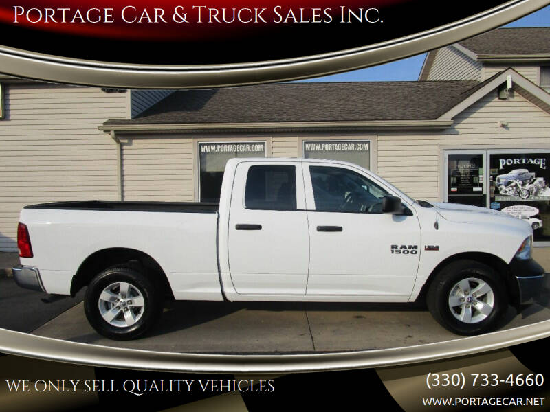 2017 RAM Ram Pickup 1500 for sale at Portage Car & Truck Sales Inc. in Akron OH
