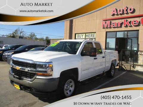 2016 Chevrolet Silverado 1500 for sale at Auto Market in Oklahoma City OK