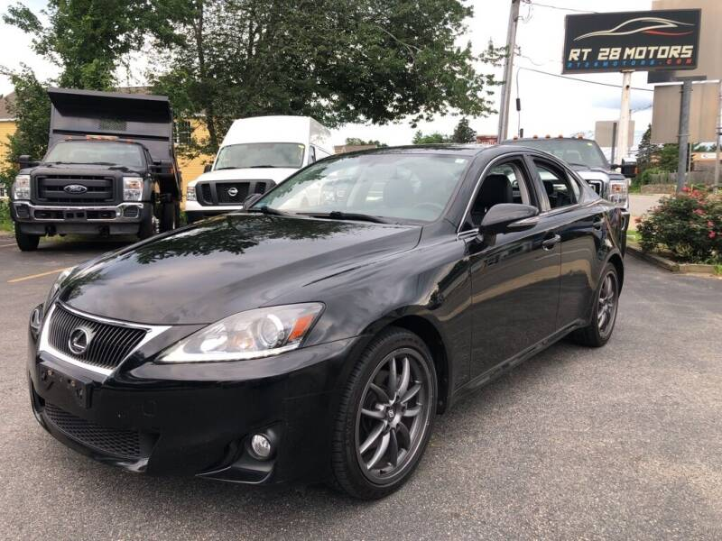 2012 Lexus IS 250 for sale at RT28 Motors in North Reading MA