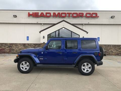 2018 Jeep Wrangler Unlimited for sale at Head Motor Company - Head Indian Motorcycle in Columbia MO