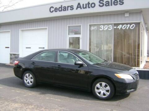 2007 Toyota Camry for sale at Cedar Auto Sales in Lansing MI