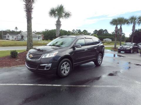 2017 Chevrolet Traverse for sale at First Choice Auto Inc in Little River SC