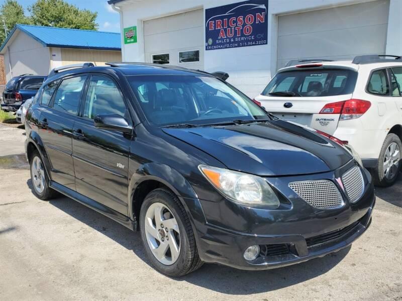2007 Pontiac Vibe for sale at Ericson Auto in Ankeny IA
