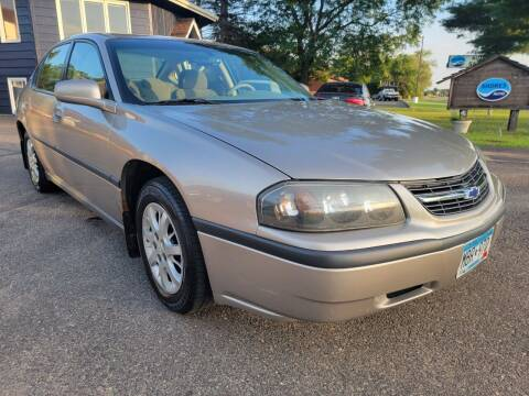 2003 Chevrolet Impala for sale at Shores Auto in Lakeland Shores MN