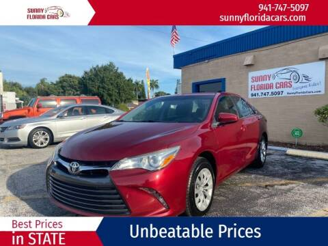 2015 Toyota Camry for sale at Sunny Florida Cars in Bradenton FL