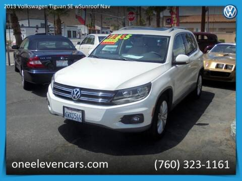 2013 Volkswagen Tiguan for sale at One Eleven Vintage Cars in Palm Springs CA