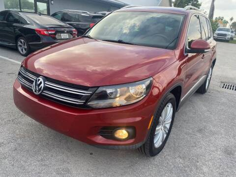 2014 Volkswagen Tiguan for sale at UNITED AUTO BROKERS in Hollywood FL