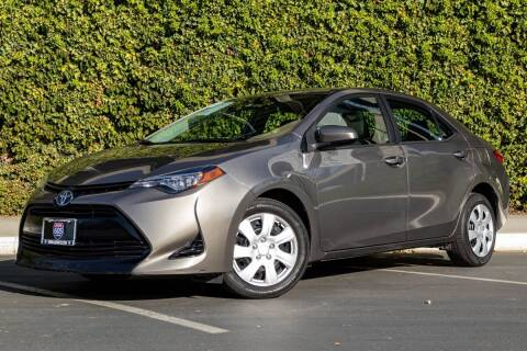2017 Toyota Corolla for sale at Southern Auto Finance in Bellflower CA