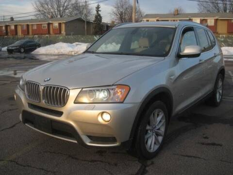 2012 BMW X3 for sale at ELITE AUTOMOTIVE in Euclid OH