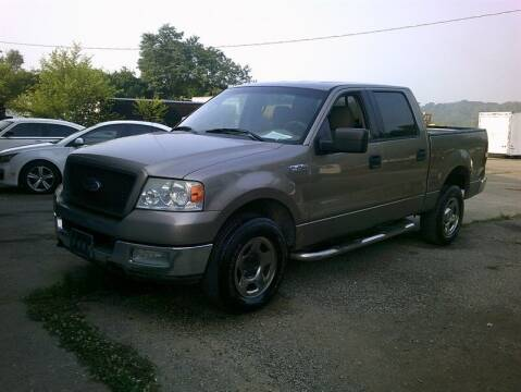 2004 Ford F-150 for sale at MICHAEL J'S AUTO SALES in Cleves OH