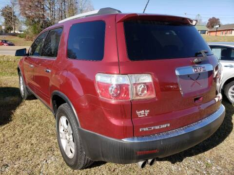 2011 GMC Acadia for sale at Scarletts Cars in Camden TN