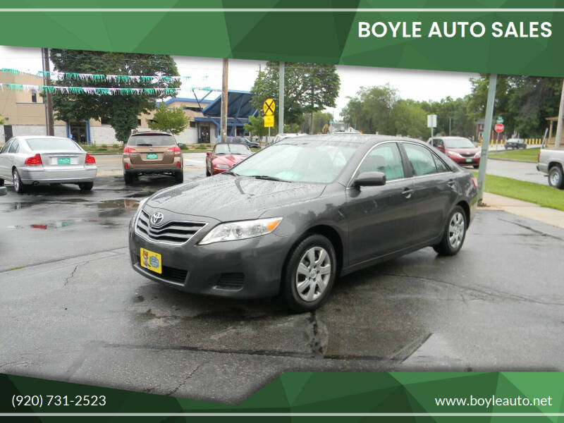 2010 Toyota Camry for sale at Boyle Auto Sales in Appleton WI