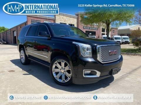 2015 GMC Yukon for sale at International Motor Productions in Carrollton TX